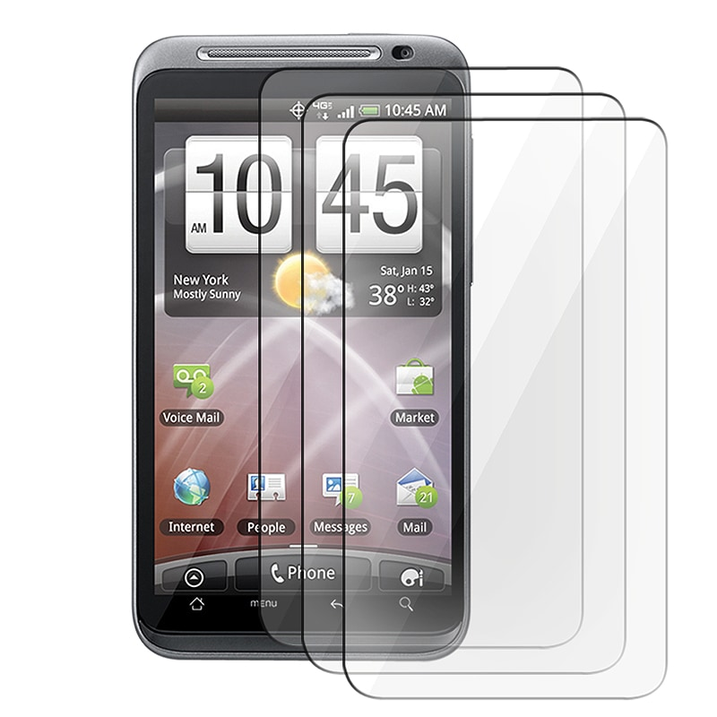 Screen Protector for HTC Thunderbolt 4G (Pack of 3)