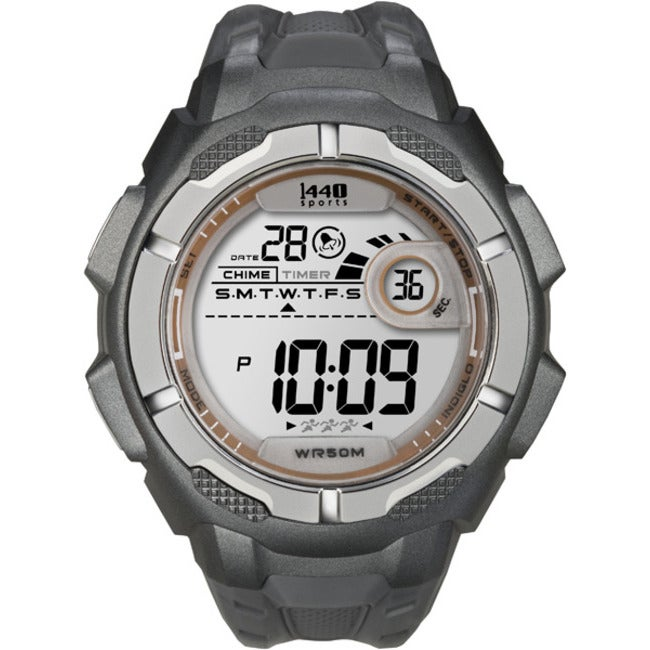 Timex T5K5949J Men's 1440 Sports Digital Grey Watch
