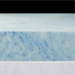 Slumber Solutions Gel 2-inch Queen/ King/ Cal King-size Memory Foam Mattress Topper