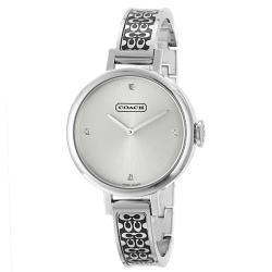 Coach Studio Women's Silver Dial Stainless Steel Watch