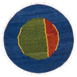 Safavieh Hand-knotted Gabeh Tribal Multi Wool Rug (5' Round)
