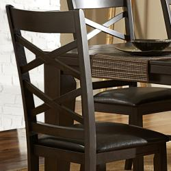 Callington Rich Espresso x Back Mission Dining Chair (Set of 2) - Thumbnail 1