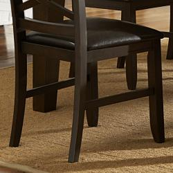 Callington Rich Espresso x Back Mission Dining Chair (Set of 2) - Thumbnail 2