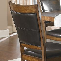 Farnham Warm Brown Dining Chairs (Set of 2) - Thumbnail 1