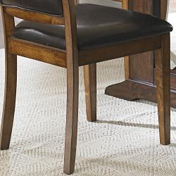 Farnham Warm Brown Dining Chairs (Set of 2) - Thumbnail 2