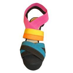 Bucco Women's 'Cap' Platform Sandals - Thumbnail 1