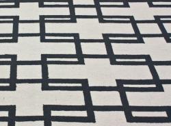nuLOOM Handmade Trellis Ivory Wool Rug (5' x 8')