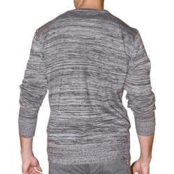 191 Unlimited Men's Grey Heathered Cardigan