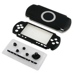 BasAcc Black Shell Kit for Sony PSP1000 - Thumbnail 2