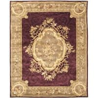Safavieh Handmade French Aubusson Red Premium Wool Rug - 8'3 x 11'