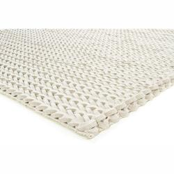 Artist's Loom Hand-woven Contemporary Abstract Wool Rug (7'9x10'6) - Thumbnail 1
