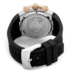 Invicta Men's 'Venom/Reserve' Black Silicone Watch