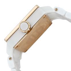 Invicta Women's 'Ceramics' White Ceramic Watch