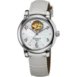 Tissot Women's 'Lady Heart' Mother of Pearl Dial Automatic Watch