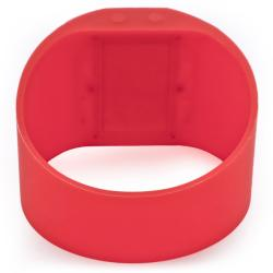 Invicta 'Specialty' Red Silicone Watch - Thumbnail 1