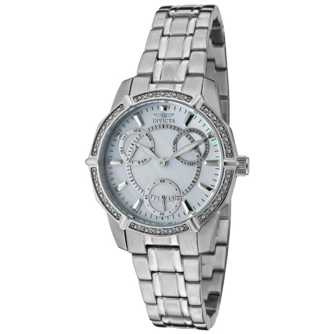 Invicta Women's 'Wildflower' Stainless Steel Watch - Thumbnail 0