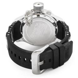 Invicta Men's 'Russian Diver/Quinotaur' Black Rubber Watch