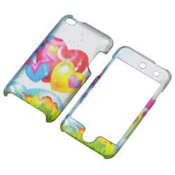 Cartoon Heart Snap-on Case for Apple iPod Touch 4th Generation - Thumbnail 1