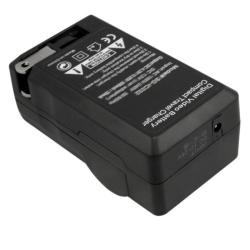 BasAcc Compact Battery Charger Set for Fuji NP-60/ Kodak/ Panasonic - Thumbnail 2