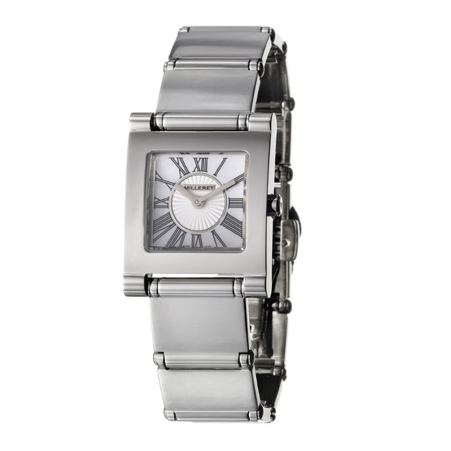 Milleret Women's 'Classic' Stainless Steel Quartz Watch