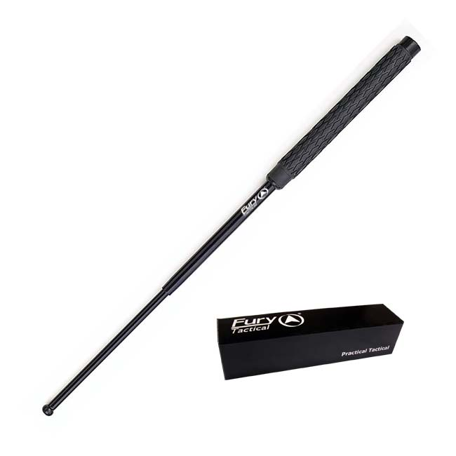 Fury Tactical Power Grip 26-inch Collapsible Baton with Pouch