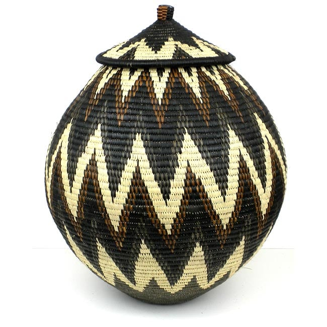 One of a Kind Ukhamba Beer Basket (South Africa)