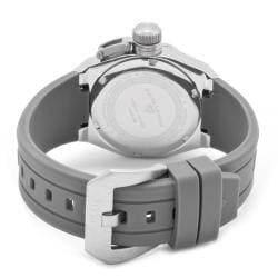 Swiss Legend Women's 'Trimix Diver' Grey Silicone Watch