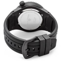 Swiss Legend Men's 'Neptune' Black Silicone Watch - Thumbnail 1