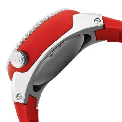 Swiss Legend Men's 'Neptune' Red Silicone Watch - Thumbnail 2