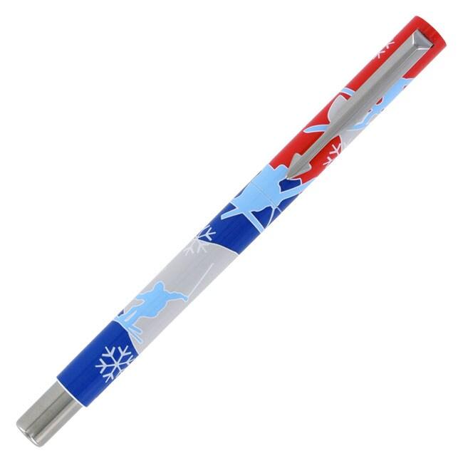 Parker Vector Adrenaline Ski Chrome Trim Rollerball Pen