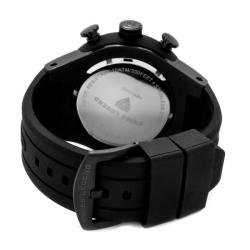 Swiss Legend Men's 'Neptune' Black Silicone Watch - Thumbnail 1