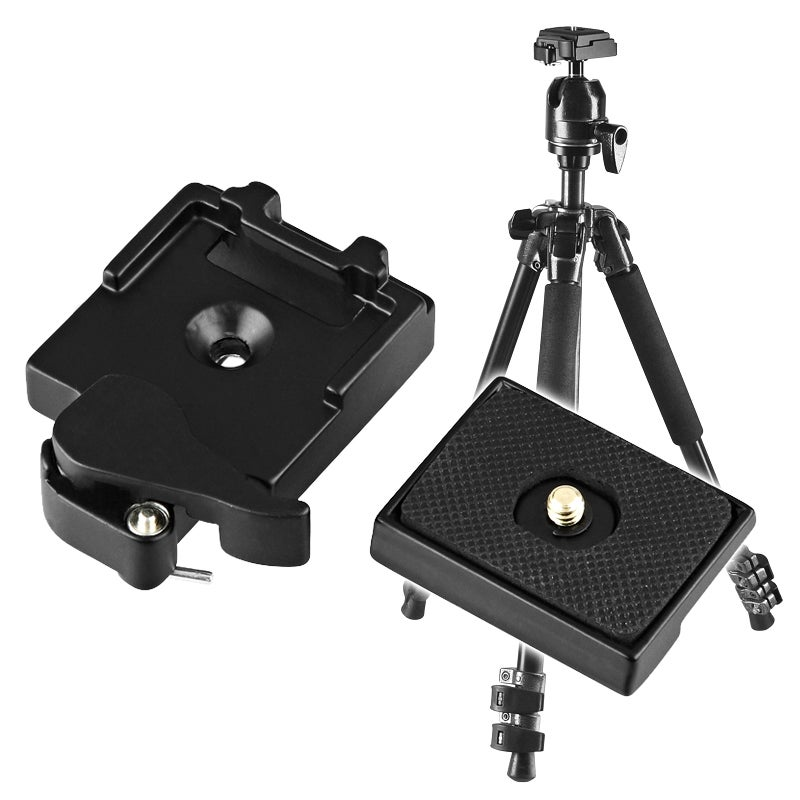 BasAcc Camera Quick Release Plate Adapter Set
