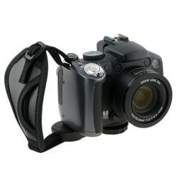 BasAcc Black Adjustable Camera Hand Strap with Microfiber Padding