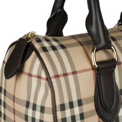 Burberry 3460094 Medium Haymarket Check Bowler Bag - Thumbnail 2