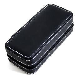 Caddy Bay Collection Black Soft Touch Compact Travel Watch Case - Thumbnail 2