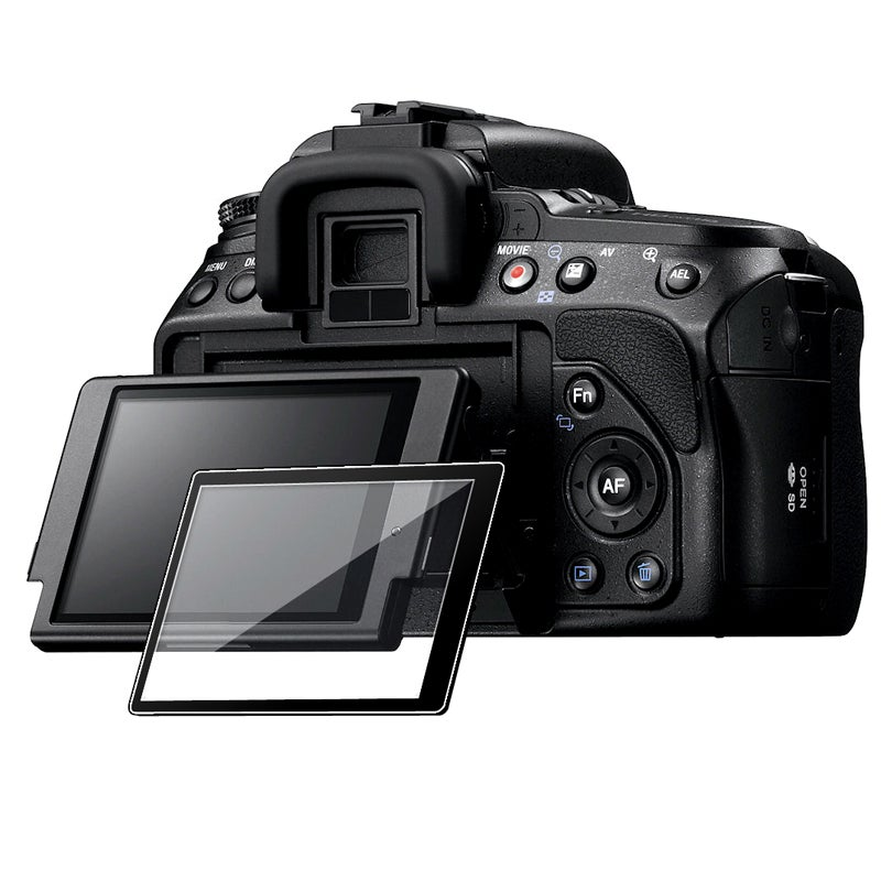 BasAcc LCD Screen Protector Glass for Sony A580