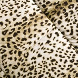 Comfort Classic Cheetah/Ocelot King-size 3-piece Down Alternative Comforter and Sham Set - Thumbnail 1