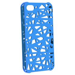 BasAcc Blue Bird Nest Rubber Coated Case for Apple iPhone 4/ 4S - Thumbnail 1