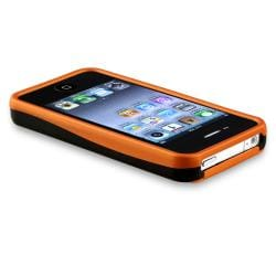 BasAcc Orange Cup Shape Rubber Coated Case for Apple iPhone 4/ 4S - Thumbnail 2