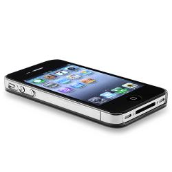 BasAcc Green Aluminum Snap-on Case for Apple iPhone 4/ 4S - Thumbnail 2