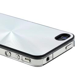 BasAcc Silver Aluminum Snap-on Case for Apple iPhone 4/ 4S