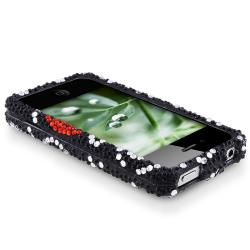 MYBAT Curve Heart Diamond Snap-on Case for Apple iPhone 4/ 4S - Thumbnail 2