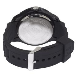 Ice Men's Forever Collection Black Silicone Watch