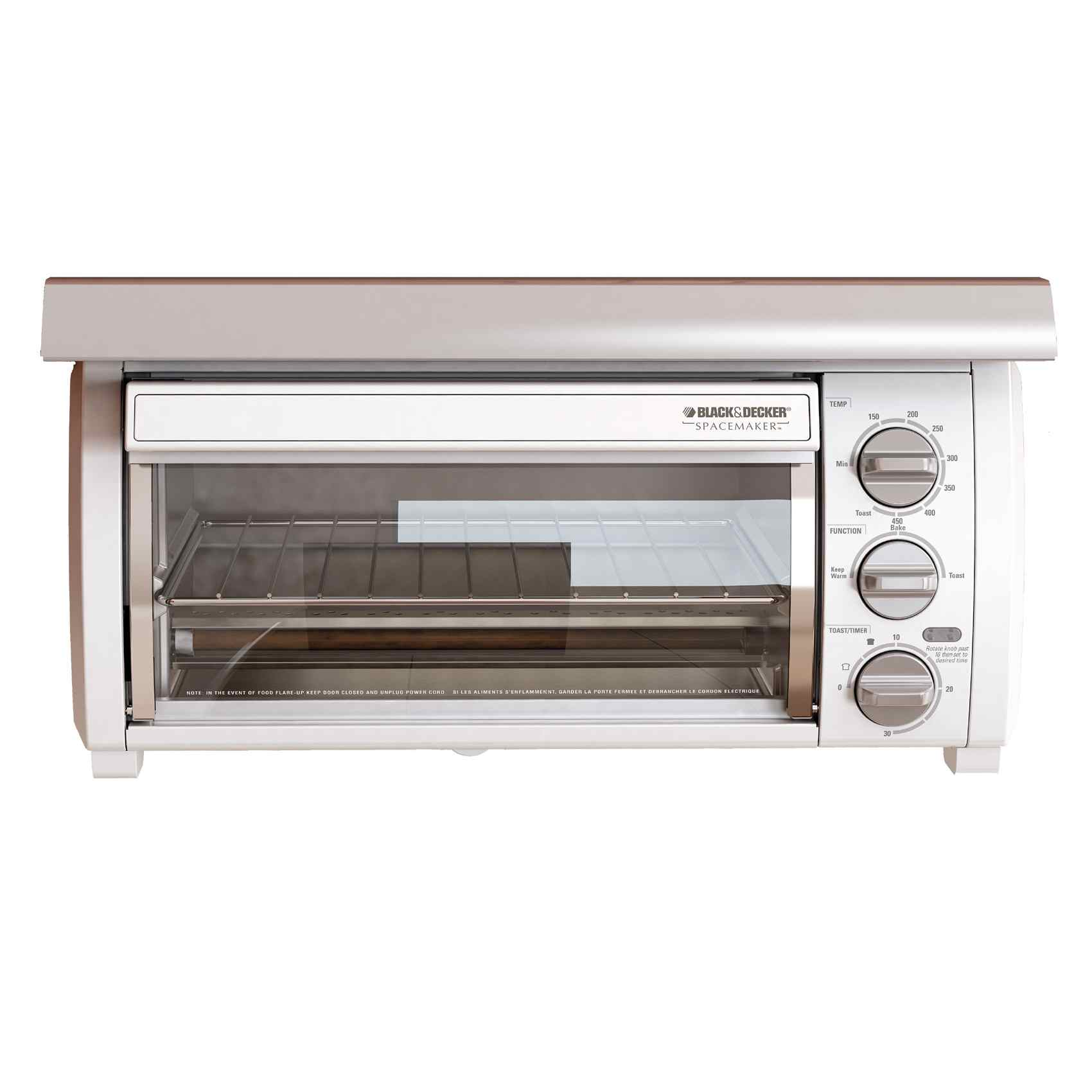 Black & Decker TROS1500 SpaceMaker Traditional Toaster Oven (Refurbished)