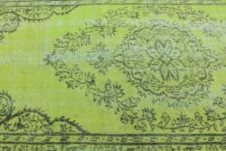 Thumbnail 3, Overdyed Green Rug (5' x 8'). Changes active main hero.