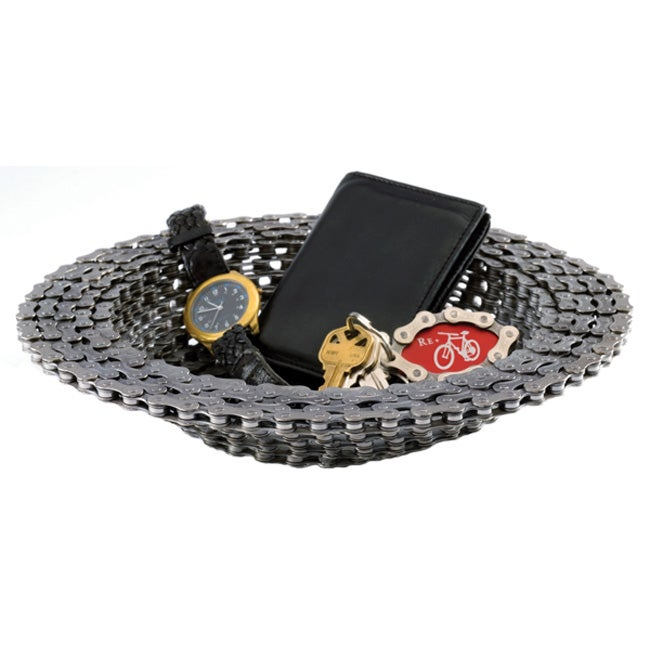 Recycled Bicycle Chain Bowl (USA)