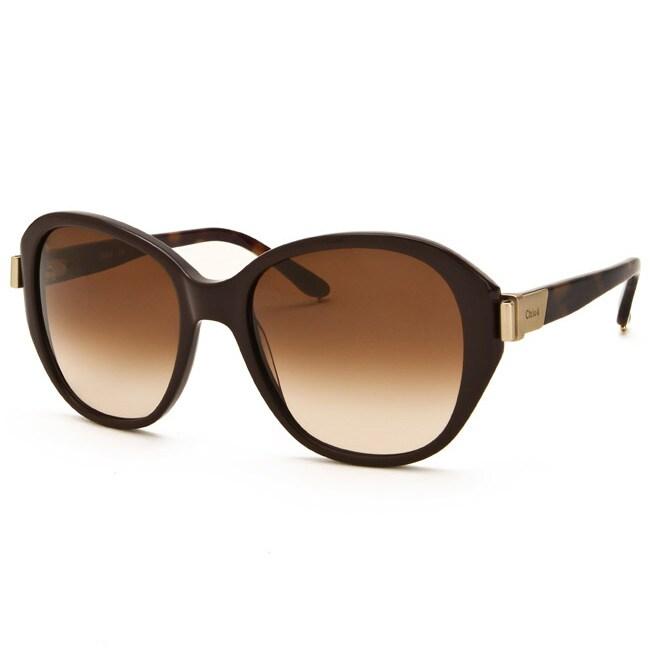 Chloe Women's Chocolate Fashion Sunglasses