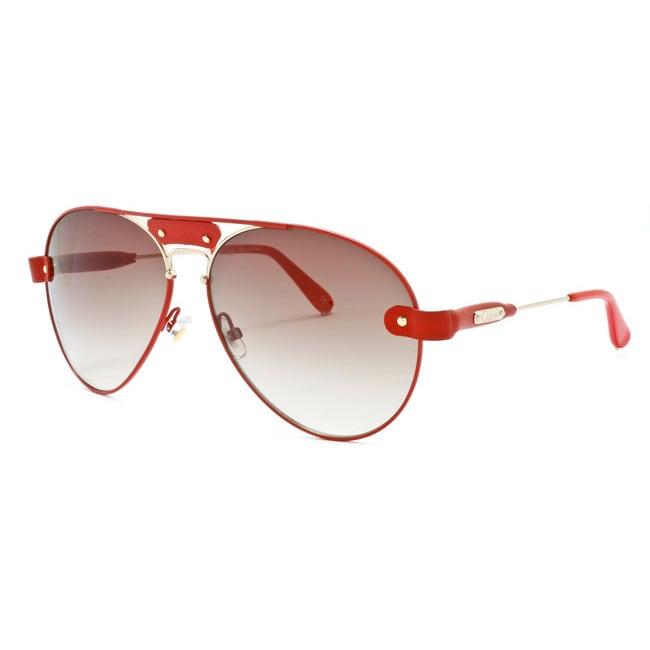 34c5389fda46 Shop Chloe  Tamaris  Unisex Aviator Sunglasses - Free Shipping Today -  Overstock - 6661074