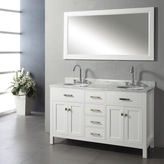 Ashford 60-inch Double-sink Bathroom Vanity Set