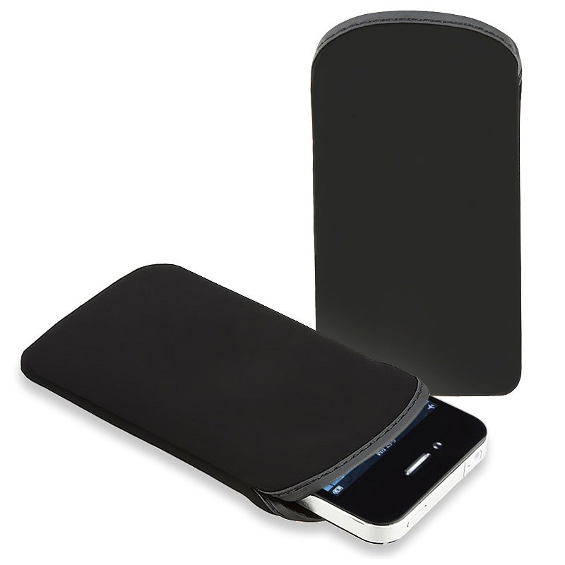 BasAcc Black Soft Pouch for Apple iPhone/ iPod Touch
